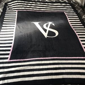 Victoria's Secret plush throw
